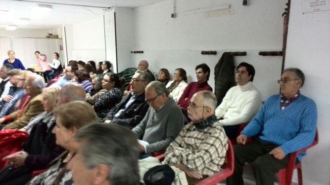 Homenaje a Antonio Gil Albarracín en el Centro Almeriense de Hospitalet