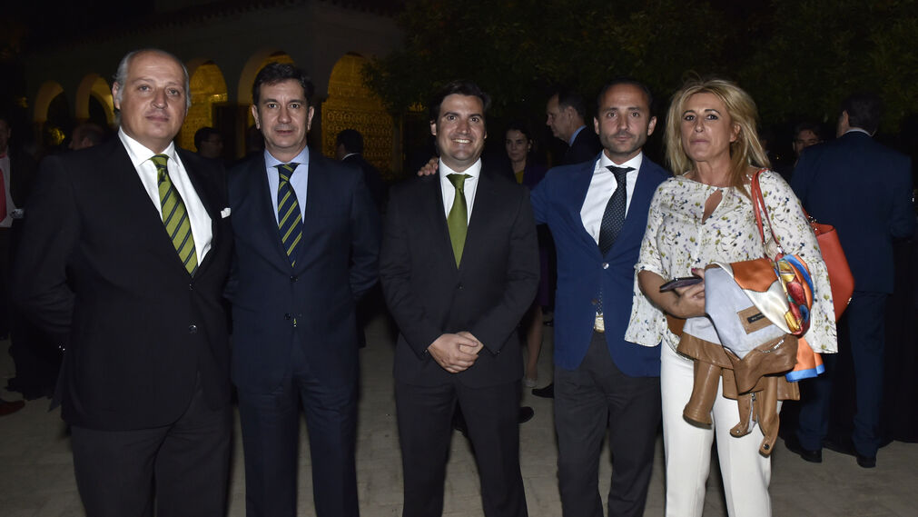 Francisco Cívico, Arturo Ponferrada, José María del Río, Javier Garrido y Begoña Hernández.