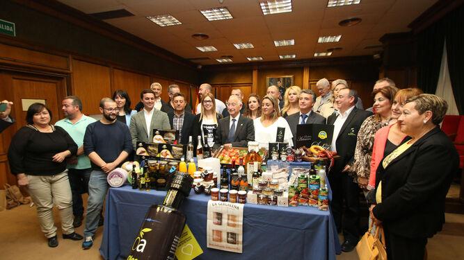 En la presentación se expuso una selección de los productos que se mostrarán en el certamen.