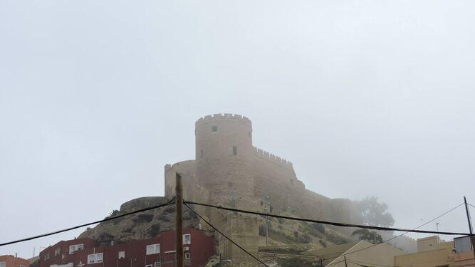 Canteras Califales entre la niebla