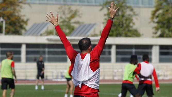 El Almería necesita la tensión y la atención en el partido que sí mostró en el partidillo de entrenamiento.
