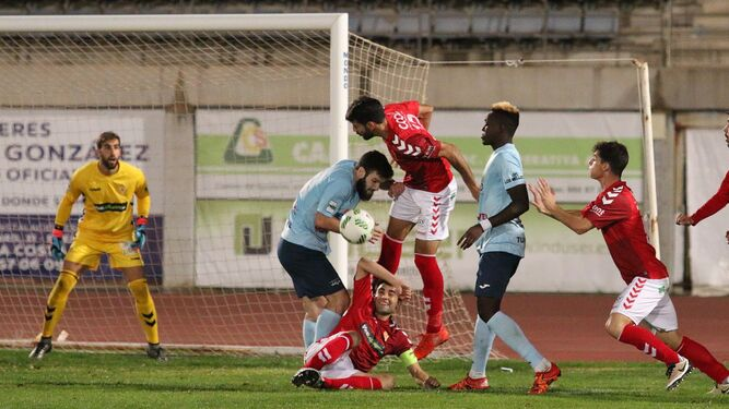 Los ejidenses cayeron en la primera vuelta ante los murcianos por 2-3.