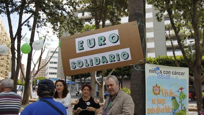 Un euro solidario para ayudar a los niños con cáncer.