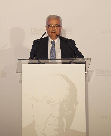 El vicepresidente de la Junta de Andalucía, Manuel Jiménez Barrios.