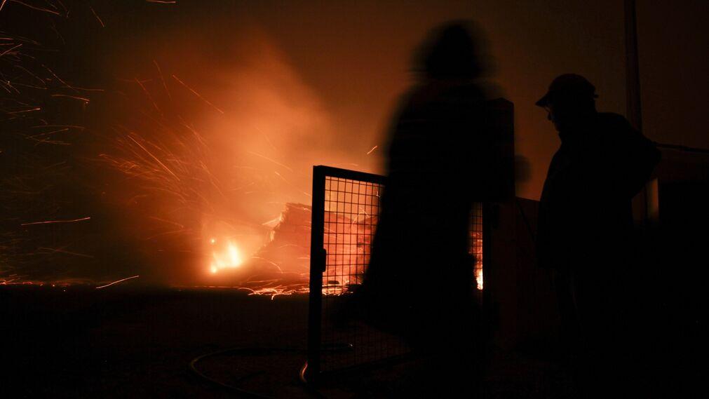 El incendio en Pedrógão Grande, en imágenes