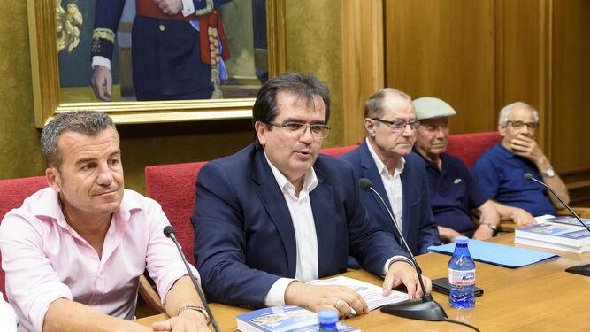 Salvador Hernández, Antonio Jesús Rodríguez, Antonio Carrillo, Ramón Carrillo Aguado y Andrés Ruiz Carmona.