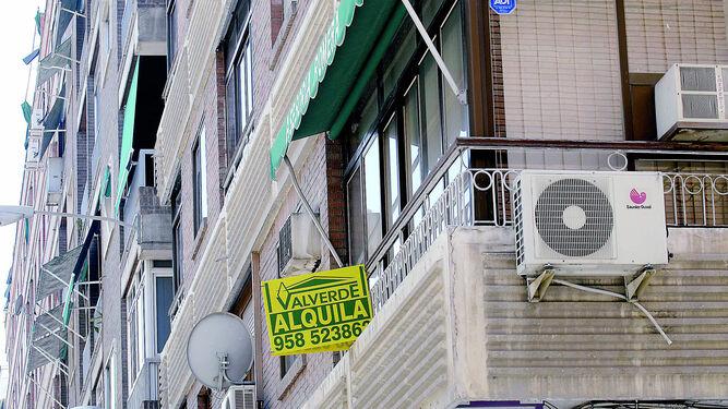 Resultado de imagen de fotografia de carteles alquilerde viviendas