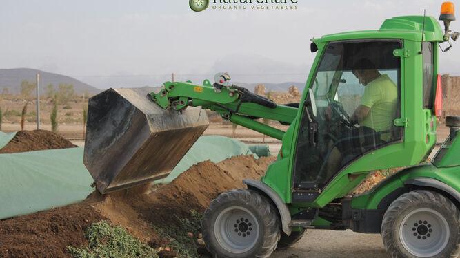 En septiembre se cumple un año de la puesta en marcha de la planta de compostaje.