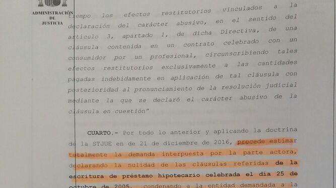 La justicia anula por primera vez en la provincia una cláusula hipotecaria IRPH