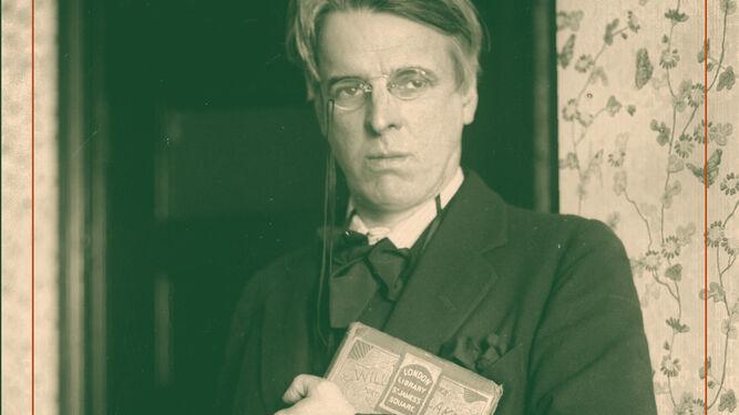 William Butler Yeats y su mujer George Hyde Lees retratados en los años veinte. A la derecha, Antonio Rivero Taravillo.