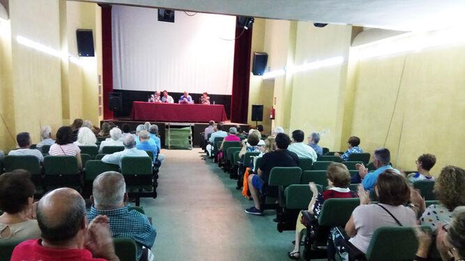 Presentación de la revista 'El Afa'  en el Teatro Villaespesa de Sorbas.