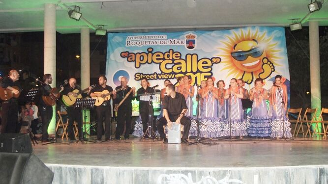 Coro Salinero 'Virgen del Rosario' de Roquetas de Mar.