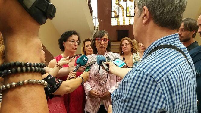 Rosa Aguilar reclama un nuevo juzgado de instrucción para Vera.