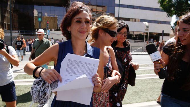 El juez deja en libertad provisional a Juana Rivas