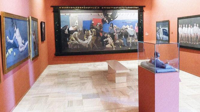 La sala 16 está dedicada a la fotografía del almeriense Carlos Pérez Siquier.