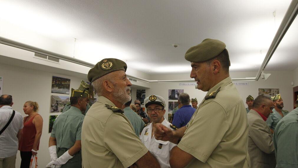 Las imágenes de la exposición fotográfica 'El Espíritu de Combate' de La Legión