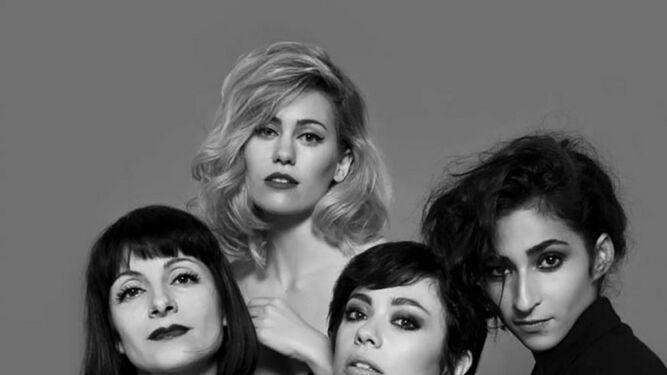 Las cuatro actrices que protagonizan 'Drac Pack'.