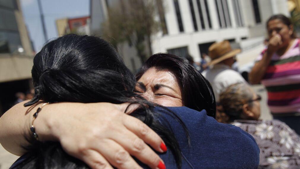 El terremoto en México, en imágenes