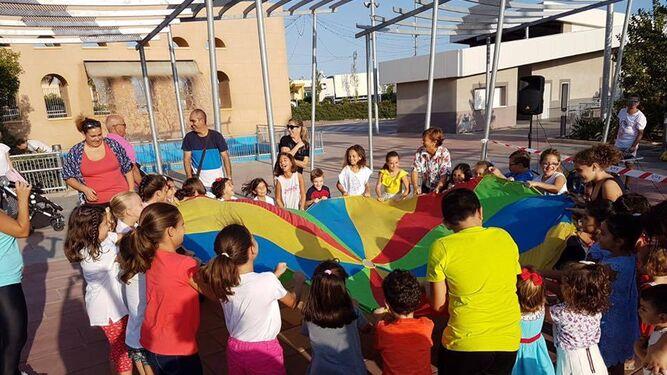 Las fiestas de los pequeños de Benahadux