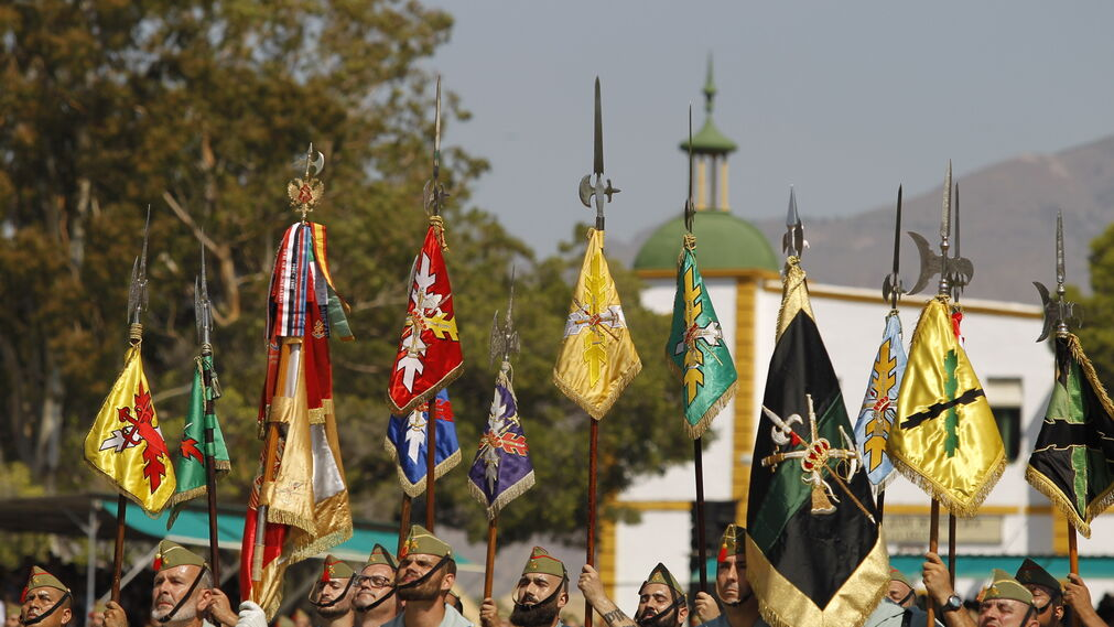 Las imágenes del 97 aniversario de La Legión