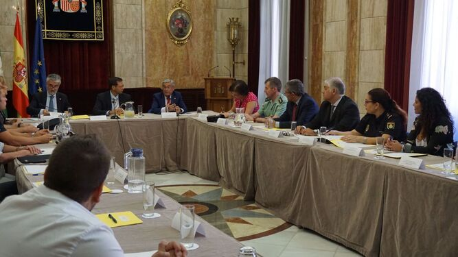 Reunión del Comité Director de la OPE en la Subdelegación del Gobierno.