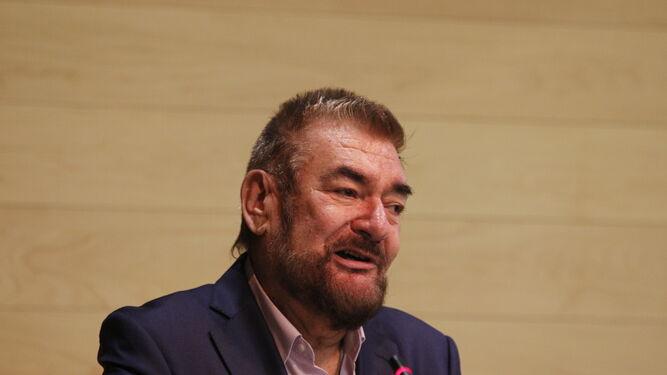 Francisco Soler Guevara, autor del poemario 'Quejidos de amor'.
