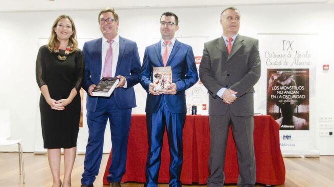 Ana Martínez Labella, José Manuel Aspas, Francisco Javier Pasamontes y Juan Jesús Gilabert.