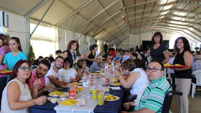 Usuarios de Casa Tejá de Pulpí también asistieron al evento.