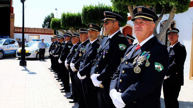 Formación de efectivos de la policía local de la comarca.
