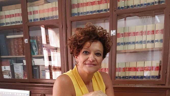 La concejala de Servicios Públicos, Francisca García Carretero.
