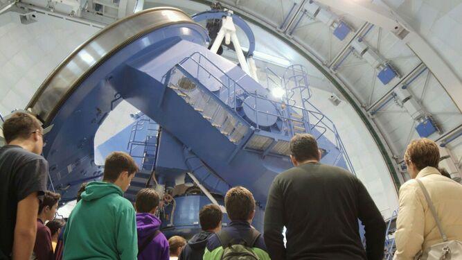 Más de 5.560 visitas a Calar Alto de turistas enamorados de la astronomía