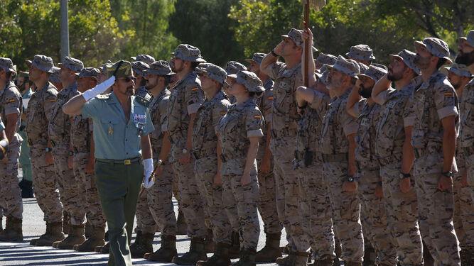 Hasta luego a los legionarios fomadores del ejército iraquí