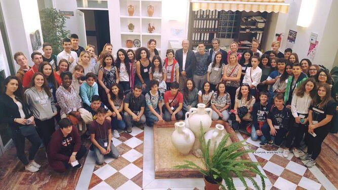 Los participantes en el programa.