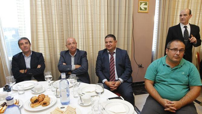 lMiguel Ángel Martínez, Andrés Montiel, Ginés González y Luis Fernández.