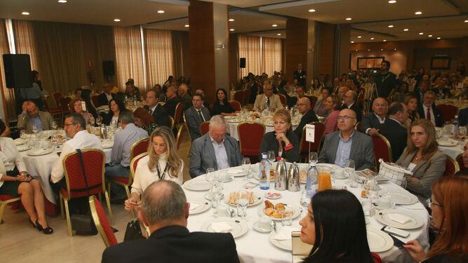 l El desayuno informativo se celebró en el Hotel Elba de la capital almeriense.