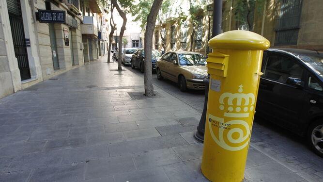 Menos cartas para los mismos buzones for Oficina correos almeria