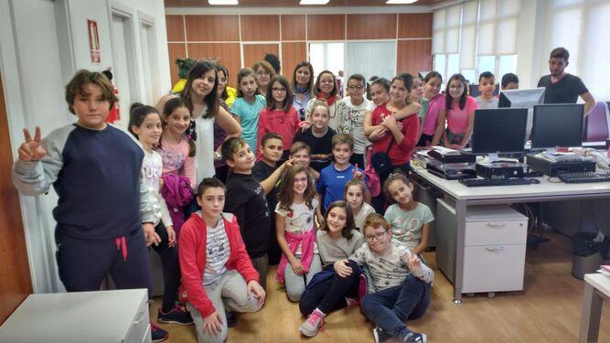Alumnos del colegio Ciavieja conocen el periódico