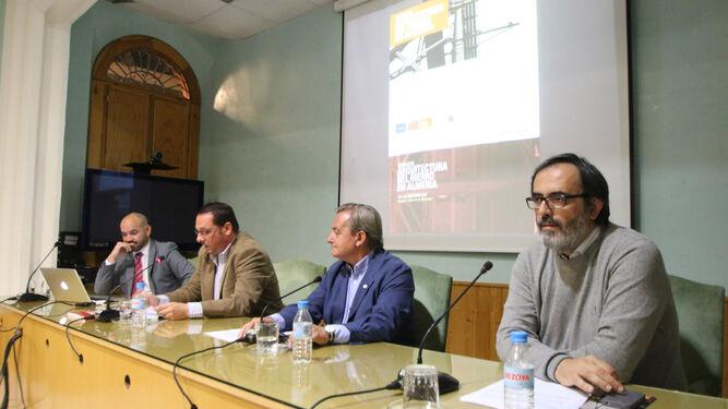 Blas Fuentes, Juan Manuel Martín Robles, Ginés Valera y Carlos Villoria.