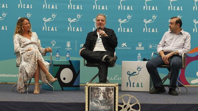 Presentación con Sanny Van Hateren, Andrés M. Koppel y Enrique Iznaola.