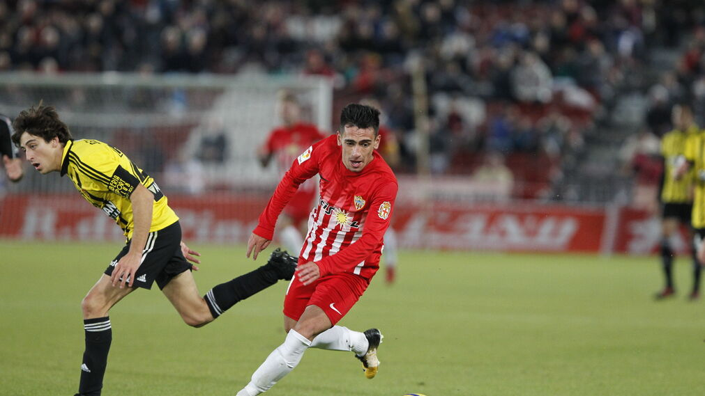 Las imágenes del Almería-Zaragoza