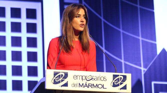 La periodista almeriense Isabel Jiménez presentó la gala, como el año pasado.