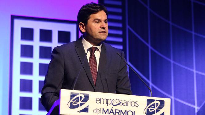 El presidente de AEMA, Antonio Sánchez, puso el broche a la gala con su discurso.