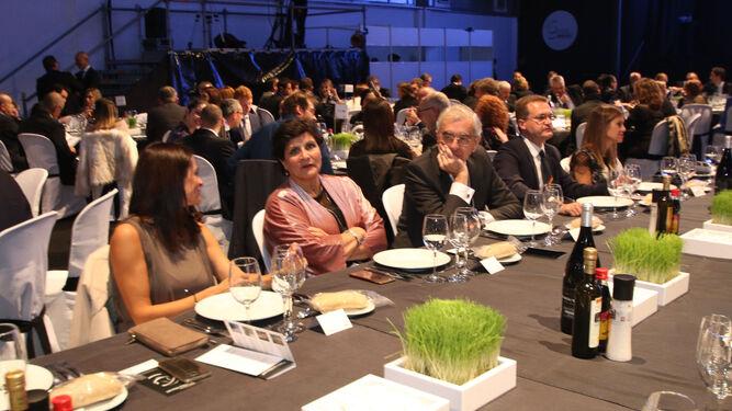 El presidente de Asempal, José Cano, no faltó a la cita.