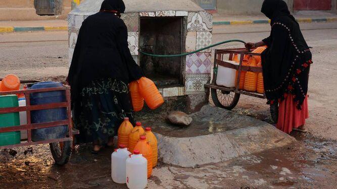 Marruecos padece una sequía que está afectando no sólo a los cultivos, también al consumo humano, en grave riesgo en muchas zonas.