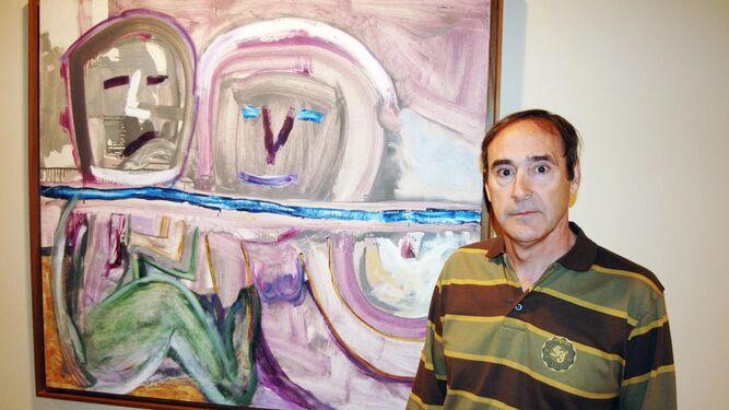 Óleo sobre lienzo sin título del año 1995 realizado por Rafael Gadea.