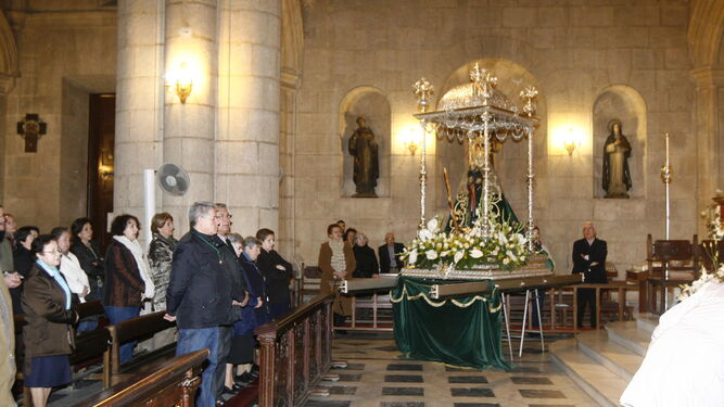 La Misa de Romeros se celebrará este año el día 14 de enero.