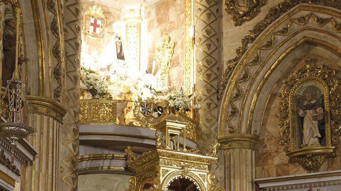 Desde el pasado día 12 se celebra en el Santuario la Novena a la Ptrona.
