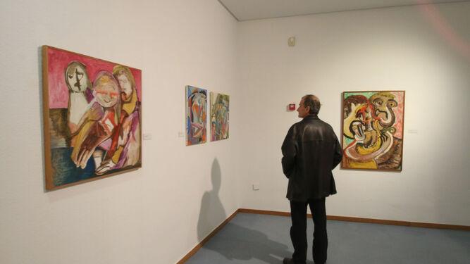 El Museo de Arte, Espacio 2 reúne 60 obras y una escultura.