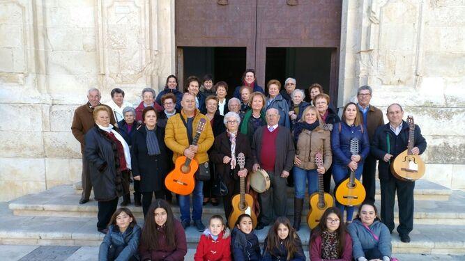 El Encuentro de Cuadrillas une tradición y folclore en Vélez Rubio
