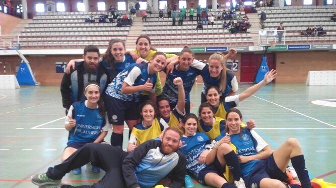 La selección de Fútbol-7 femenino fue tercera en la pasada edición.